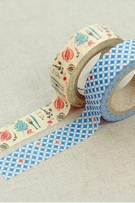 Masking Adhesive Tape Decorative Tape - Lucy