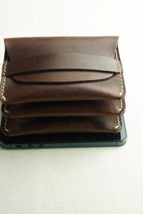 Men's wallets / Mens Leather Wallet credit card holder / Card Leather Wallet