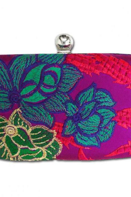 Padma Lotus Party Box Clutch