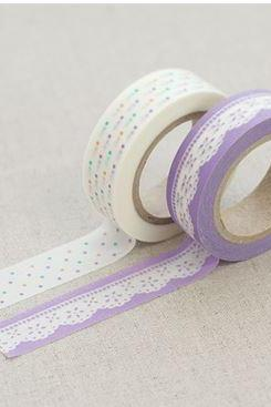 Masking Adhesive Tape Decorative Tape - Lily