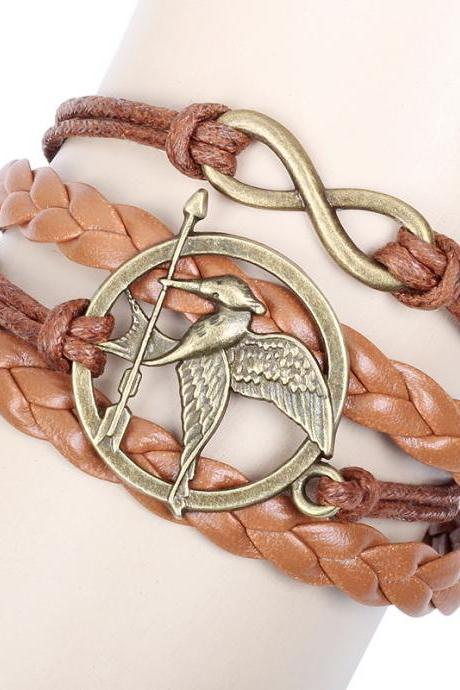 The Hunger Games Bird DIY Weave Bracelet