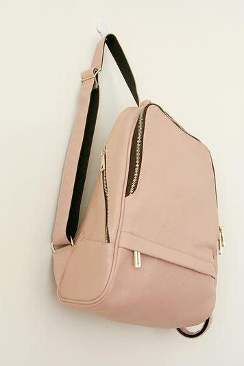 Simple Pastel Colored Backpack