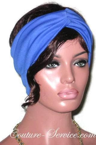 Blue, Cream or Grey Handmade Bandeau Headband Turban