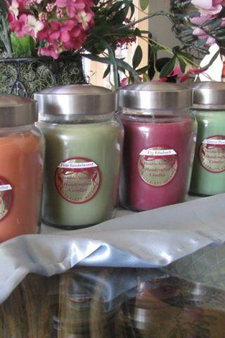 1 DoubleScented SOY Candle 27oz Jar Your Choice Limited Quantities
