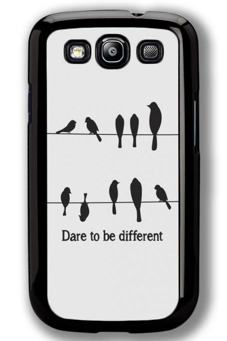 Samsung Galaxy S3 case, Samsung Galaxy S3 cover, Dare to be Different