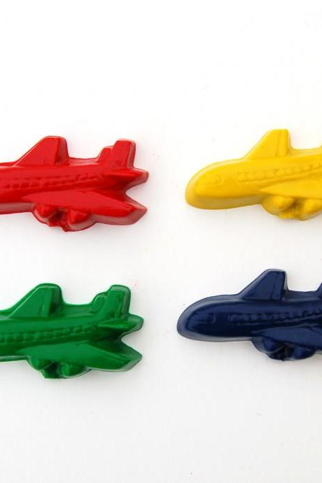 Airplane Party Favors - Package of 12 Plane Shaped Crayons
