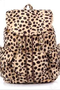 Cool Leopard Fashion Backpack Bag