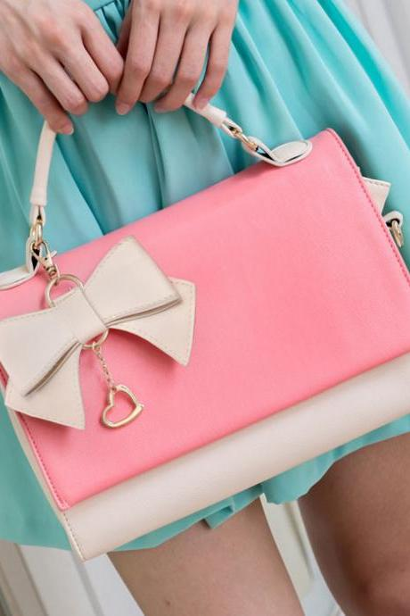 Elegant Multi-Used Bow Sweet Handbag