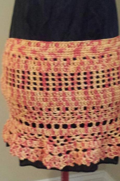 Crochet Bikini Coverup/Skirt