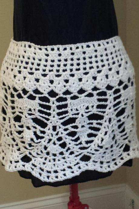 Crochet Bikini Cover/Skirt