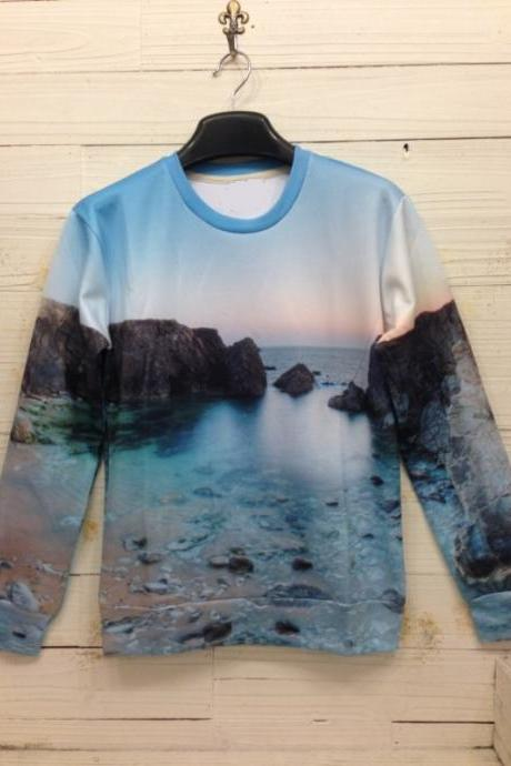 Spring Fall Winter 2014 Awesome 3D Printing Beach Sweater