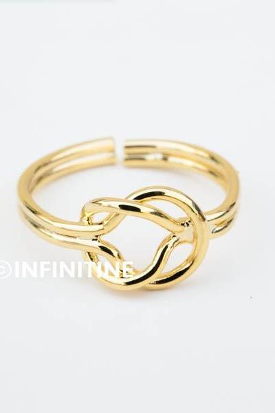 Knot infinity knuckle ring,knot rings, jewelry rings,fashion rings,anniversary ring, unique rings,rings for women,girls rings,couple rings,infinity jewelry,eternity ring,bridesmaid ring,sister ring,wedding and engagement ring,knuckle ring,upper knuckle ring,midi ring,RN2342