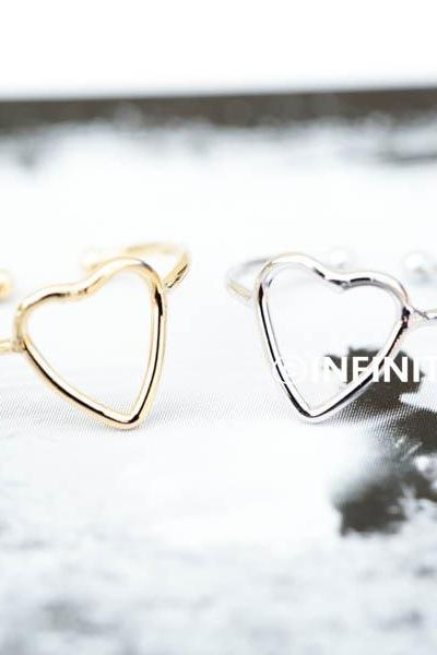 long heart knuckle ring long heart knuckle ring,jewelry rings,fashion rings,anniversary ring, unique rings,rings for women,girls rings,couple rings,infinity jewelry,eternity ring,bridesmaid ring,sister ring,wedding and engagement ring,knuckle ring,upper knuckle ring,midi ring,heart jewelry,love ring,RN2349