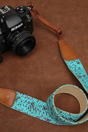 Camera Strap Canon/Nikon Camera Strap DSLR Camera Strap ---yellow/ blue/ rose