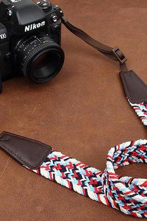 Color weaving series SLR Camera Strap Canon/Nikon Camera Strap DSLR Camera Strap
