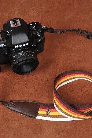Camera Strap Universal Camera Strap DSLR Camera Strap SLR Camera Strap---Rainbow bar