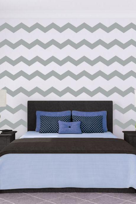 Chevron Wall Pattern Decal