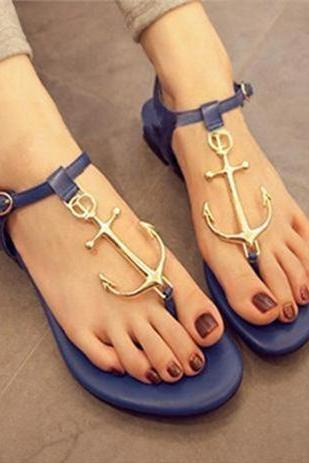 CANDY -COLORED ANCHORS SANDALS JCACC