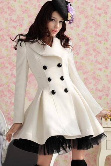 Lolita Wool Dress Coat