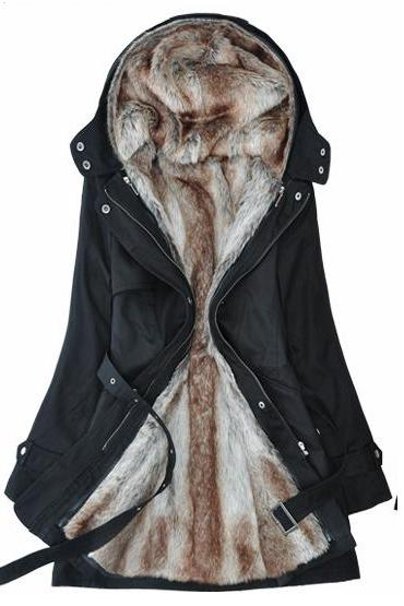 Faux Fur Winter Parka