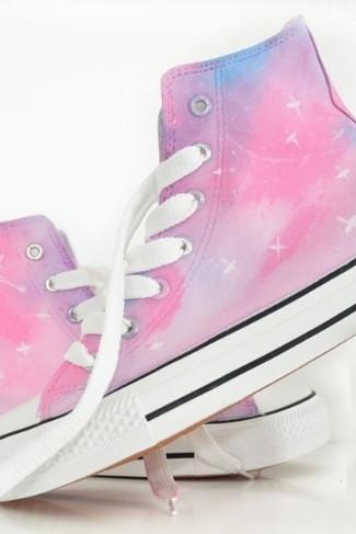 Harajuku Star Canvas Shoes