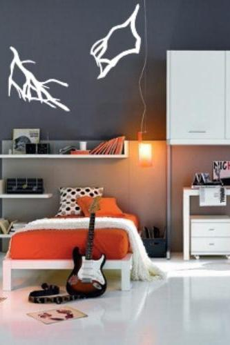 Lightning Bolts Set of Two Kids Room Vinyl Wall Decals 22397