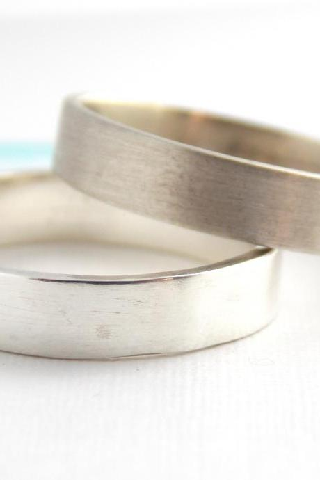 Plain Sterling Silver Band -sterling silver ring, plain ring, simple ring, silver ring, wedding band, smooth band, smooth ring