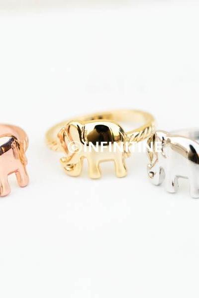 India elephant ring,Jewelry,Ring,bridesmaid gift ,birthday gift,elephant,baby elephant,good luck,live long,elephant ring,animal ring,elephant jewelry,unisex ring,mens ring,girls ring,RN2340