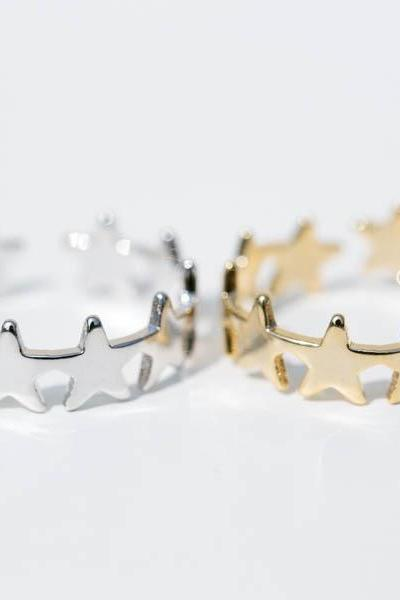 star wrap around adjustable ring,jewelry rings,fashion rings,anniversary ring, unique rings,rings for women,girls rings,bridesmaid ring,sister ring,wedding and engagement ring,midi ring,Star jewelry,RN2497