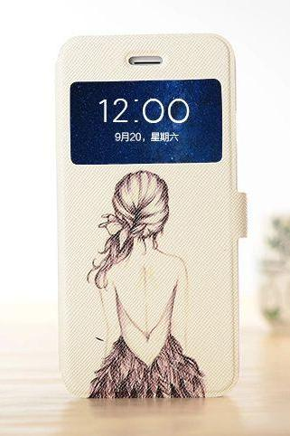 Sexy girl's back iphone 6 unique cover, art iphone 6 case design, iphone 6 plus case, iphone 6 plus flip cover, iphone 6 plus otterbox case