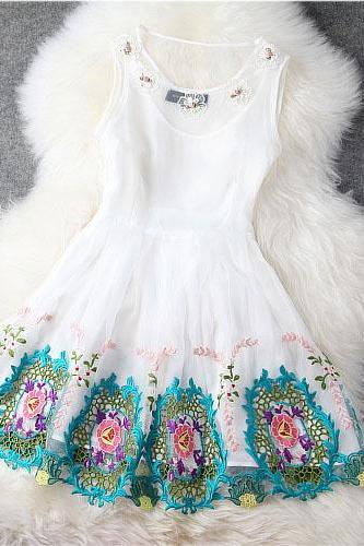 The Baroque Embroidered Dress