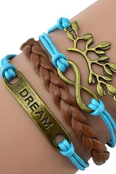 charm Dream tree handmade bracelet friendship gift