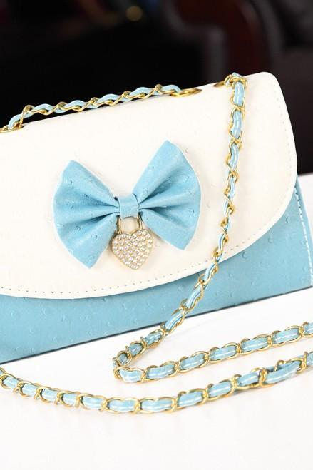 Bow shoulder bag AFAJBH