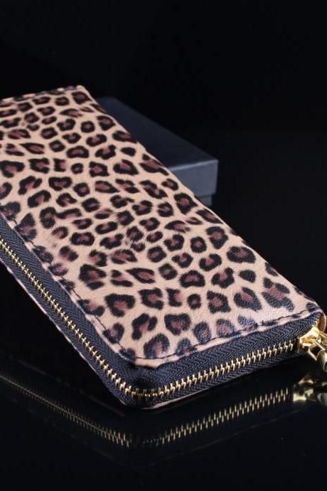 Leopard purse fashion handbags AFAJCB