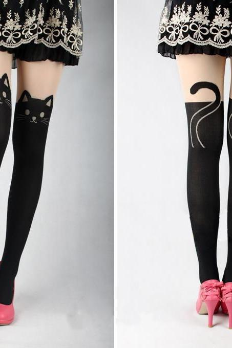 Kitty Tail Tights