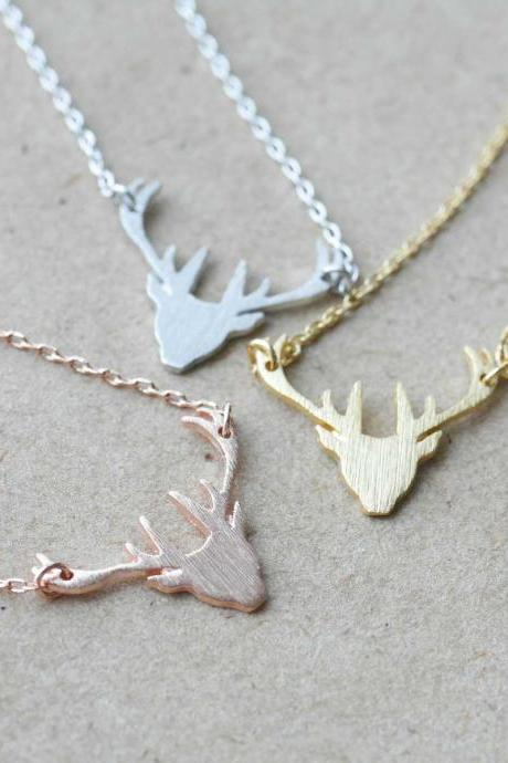 Elk Deer necklace