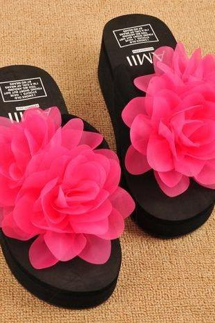 Fashion flower slippers SS05133SH