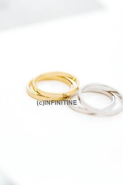 simple 3 set knuckle ring ,RN2513
