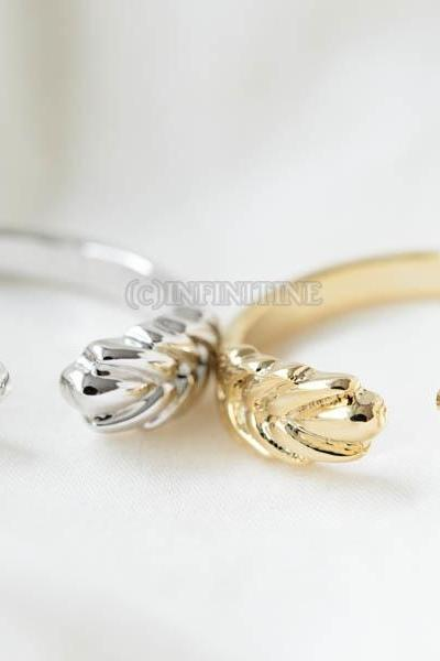 Both thick leaf adjustable ring,RN2516