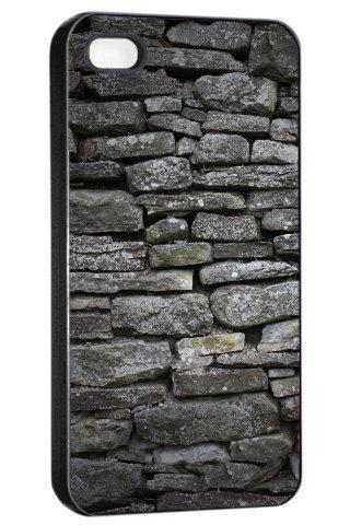 Grey Bricks - Hard Cover Case for iPhone 4, 4S & more