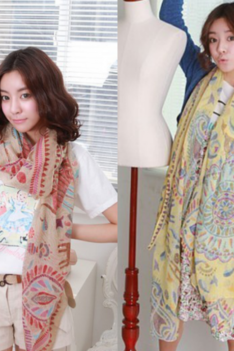 6006 new fund of 2013 autumn winters is national joker scarf auspicious tiger totem super-long shawls scarves