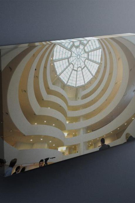 Guggenheim Museum - Fine Art Photograph on Gallery Wrapped Canvas - 16x12' & more