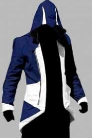 ASSASSIN'S (C KENWAY) CREED 3 BLUE/WHITE JACKET