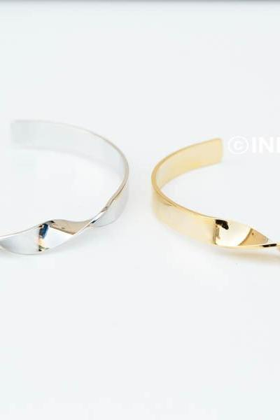 Twisted bangle bracelet,BR2303