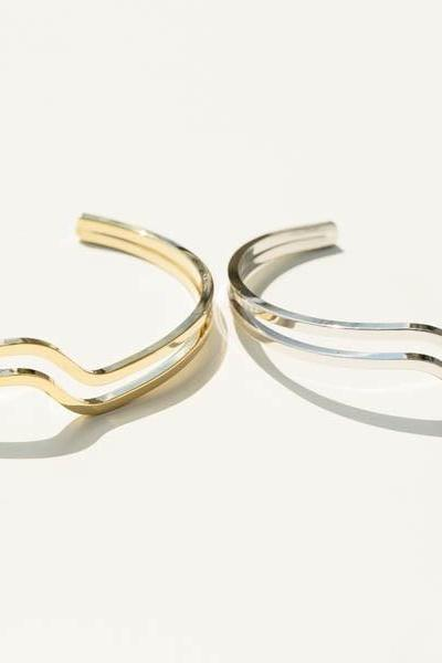 Inca wave bangle bracelet,BR2015