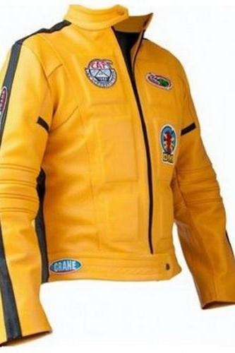 KILL BILL UMA THURMAN MOVIE LEATHER JACKET