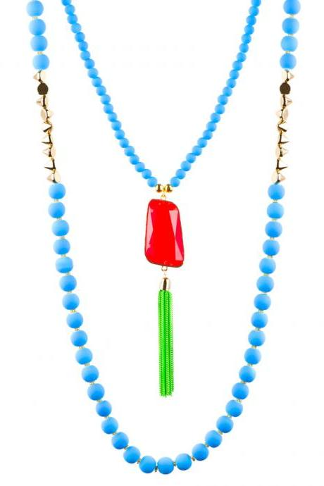 Neon Party Necklace