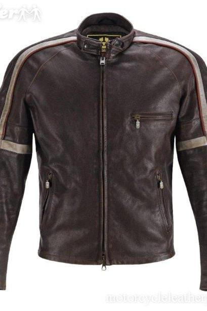 WAR OF THE WORLDS TOM CRUISE MOVIE LEATHER JACKET