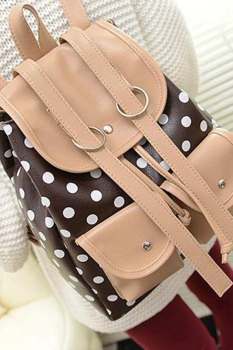 Fashion Fresh Dot Travel Backpack