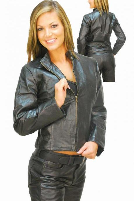 Women's Leather Jacket, women black jacket, real leather jacket